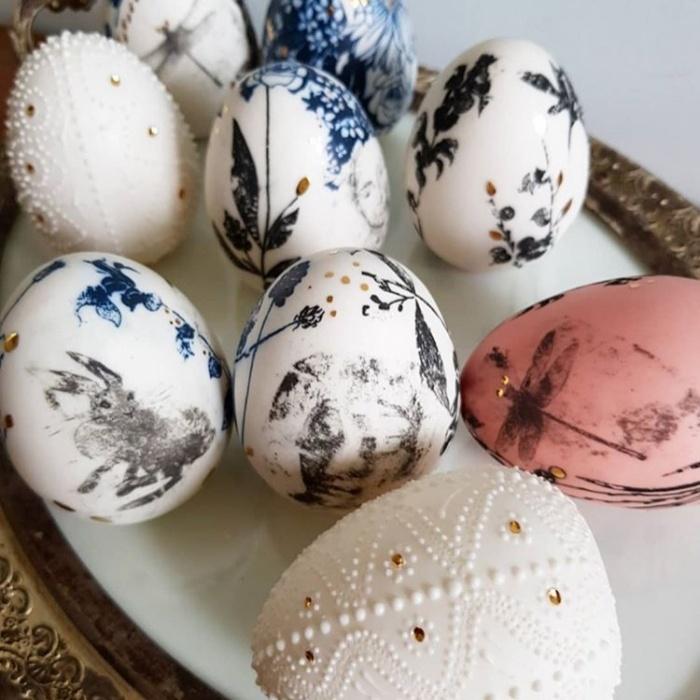 Пасхальные яйца из фарфора Kash.Studio