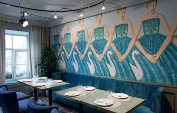 Алена Ахмадуллина разработала интерьер для питерского ресторана THE REPA