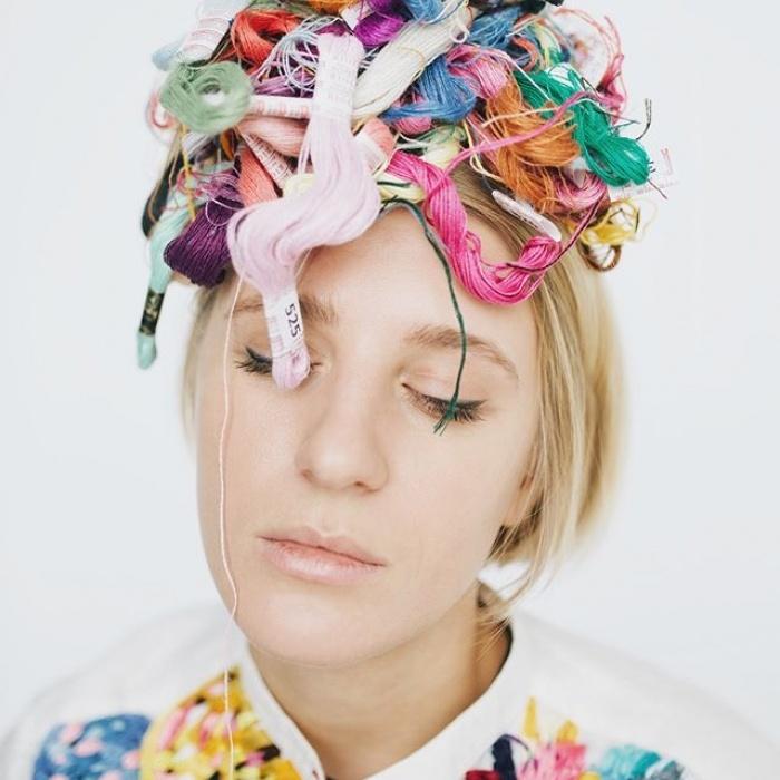 Интенсивная вышивка Лизы Смирновой