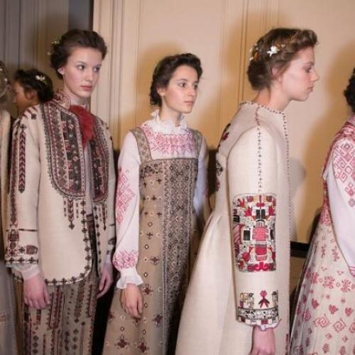 Русский костюм в современной моде