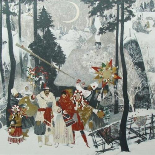Была ли новогодняя елка в Древней Руси